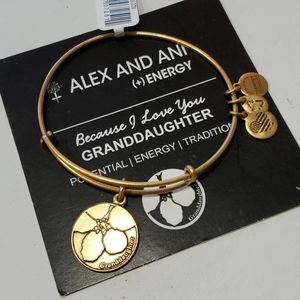 Alex and Ani Granddaughter because I love you brac